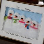 Семейство снежни човеци