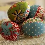 Великденски яйца от плат