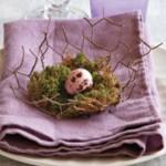 Идеи за великденска украса на маса – част 1