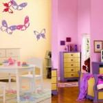 20 идеи за декорация на стая с пеперуди
