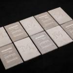Визитки от бетон