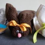 Зайчета от хавлиени кърпи