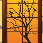 24 идеи за украса на прозорец за Хелуин – част 1