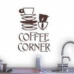 Стикери за стена за любителите на кафето – част 2