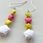 Хартиени оригами обици – част 2