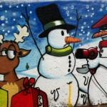 Коледни графити