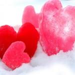 Ледени сърца за Свети Валентин