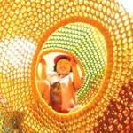 Плетените скулптури на Такино Сузуран