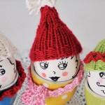 Плетена декорация за великденски яйца