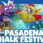 Фестивал на уличните рисунки в Пасдена