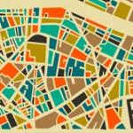 Артистични карти на най-големите градове