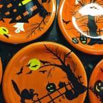 Halloween plates 10