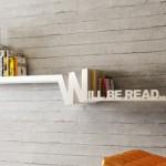 Типографска етажерка от Meb Rure Design Studio