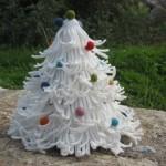WHITE CHRISTMAS TREE 8