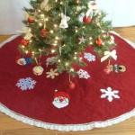 Christmas Felt Tree Skirt 1