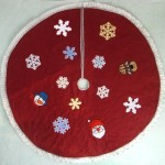 Christmas Felt Tree Skirt 2