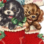 christmas retro cards 2