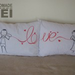 pillow case call love 1