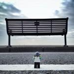 Лего фотограф обикаля Англия