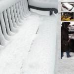 Реклама в снега