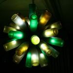 11 идеи за лампи от стари бутилки