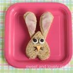 Easter Bunny sandwich 3