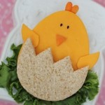 Easter Bunny sandwich 9