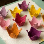 Egg Carton Flowers 5