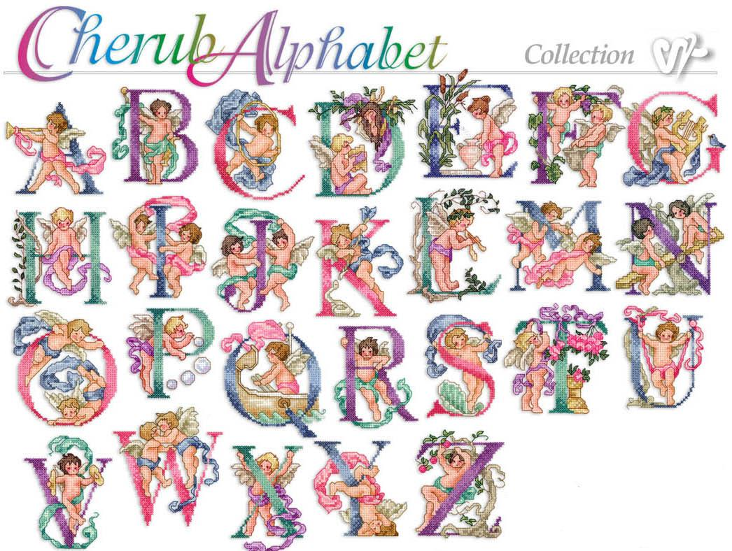 Cherub-Alphabet-Art